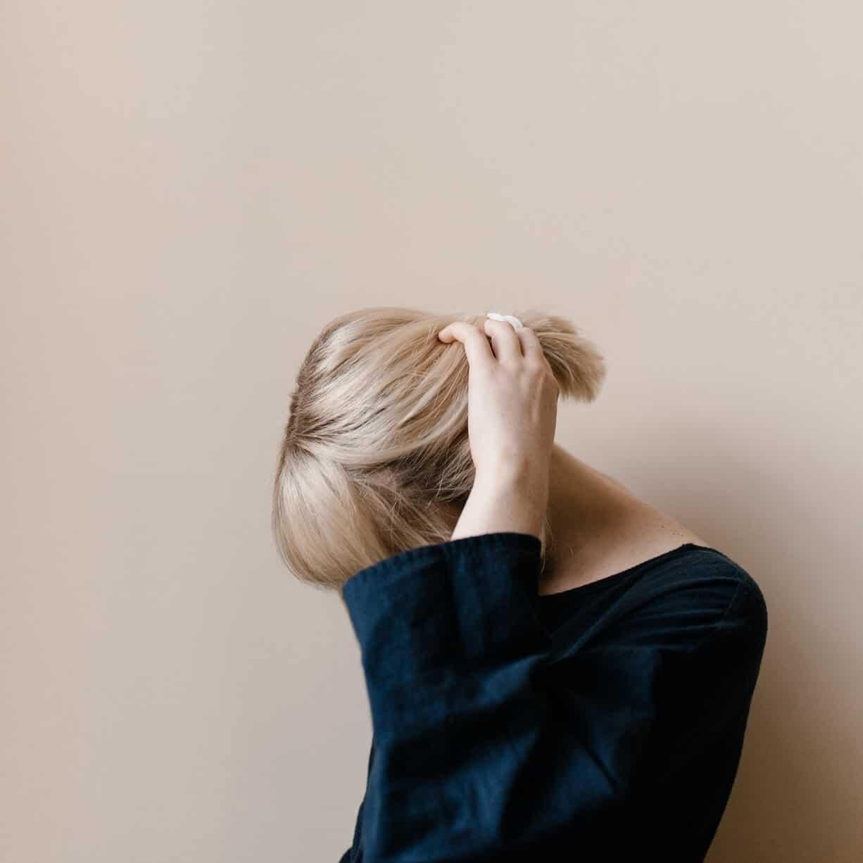 depressziós nő